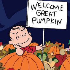 It's the Great Pumpkin, Charlie Brown will air on October 20th at 8pm on ABC!                                                                                                                                                      More