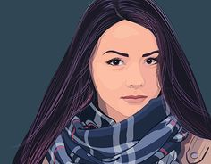 "Check out new work on my @Behance portfolio: ""Vector portrait 2"" http://be.net/gallery/55217701/Vector-portrait-2"