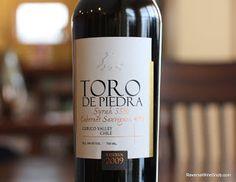 Toro de Piedra Syrah-Cabernet Sauvignon Reserva 2009 - An Unusual Blend Pays Off. Chile shows its range. $12
