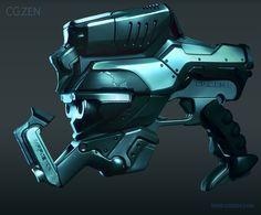 Sci-fi weapon design