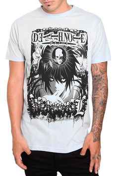 Death Note L T-Shirt I <3 Death Note :3