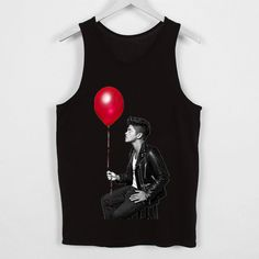 Bruno Mars Balloon tank top by billibongtank on Etsy
