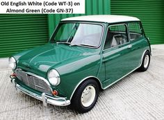 MK1 Austin Cooper S 1071cc Old English White on Almond Green