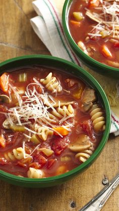"""A big hit! One diner commented that the flavor was just like what you would get at a family owned Italian restaurant. "" - Slow Cooker Vegetable Minestrone"