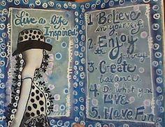 More Moleskine art journaling
