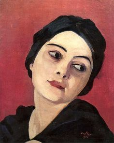 Head of the girl, 1923 / Martiros Saryan