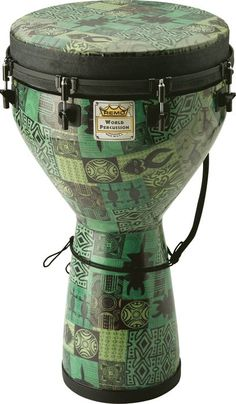 Special Offers Available Click Image Above: Remo Designer Series Key-tuned Djembe Green Kinte Remo, Djembe Drum, Mens Gear, My Favorite Music, Musical Instruments, Traditional, Design, Lucky Star, Drummers
