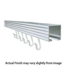 Trak Shower Rods - Anodized Aluminum - Available as a corner trak or a bendable trak rod. Website Design And Hosting, Shower Rods, Winter Garden, Track, Corner, Design Ideas, Bathroom, Washroom, Runway