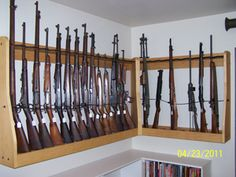 Quality Rotary Gun Racks, quality Pistol Racks - Custom Gun Racks