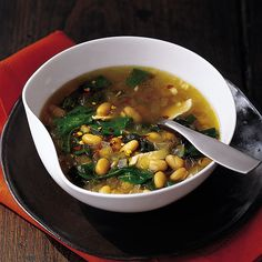 This satisfying, rustic soup makes a terrific meal along with some crusty bread and a green salad. Warming Soup Recipes...