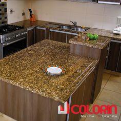 1000 images about mesones de cocinas on pinterest fortaleza - Meson de granito ...