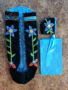 Native American Infant Moss Bag
