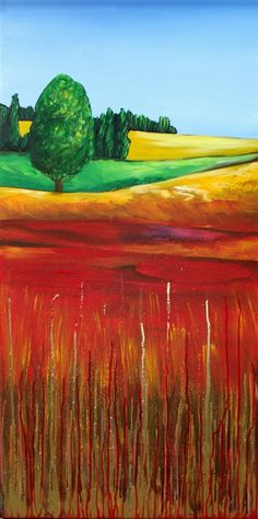 The Layered Landscape by Cherie Roe Dirksen Abstract Landscape, Landscape Paintings, Landscapes, Framed Prints, Canvas Prints, Art Prints, List Of Paintings, African Colors, South African Artists