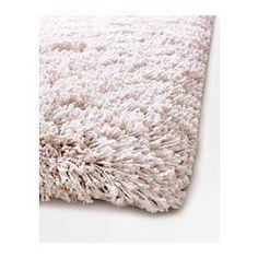 GÅSER Tæppe, lang luv, råhvid - råhvid - 170x240 cm - IKEA