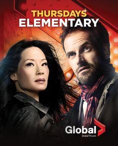 #Elementary - Thursdays beginning September 27 on Global