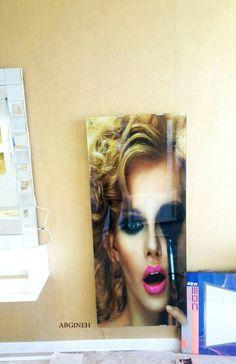 beauty salon radiator glass