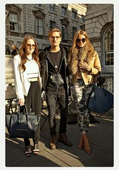 Made in Chelsea - millie's fur collar.