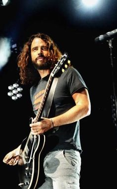 Chris Cornell just can't get enough of him. Perfection.
