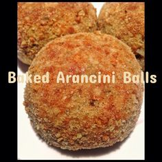 Baked Arancini Balls