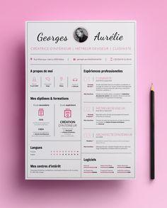 C.V. de Georges Aurélie, une jeune décoratrice d'intérieure et cuisiniste