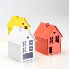 Lamen Small Metal Model House La Redoute Interieurs