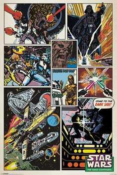Star Wars - Retro Comic - Official Poster