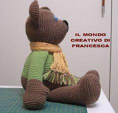 Ravelry: SEBASTIAN TEDDY AMIGURUMI pattern by francesca chanel free