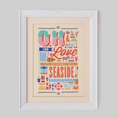Seaside+Love+Cross+Stitch+Pattern+Digital+Format++by+Stitchrovia,+£14.50