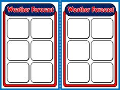 The Weather - Board Game (Vocabulary Cards)