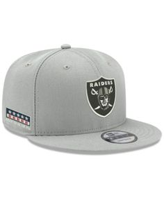New Era Oakland Raiders Crafted in the Usa 9FIFTY Snapback Cap - Gray  Adjustable 3c5c854366ac