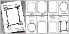 Mini Mother's book - Βιβλίο για την μαμά με ένα φύλλο χαρτιού / Mother's day gift idea
