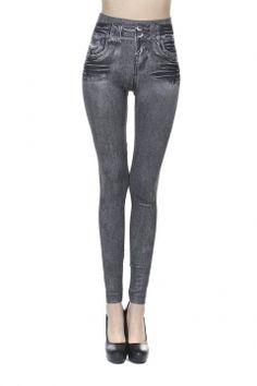 36% OFF Jeggings Women's Patterned Soft Fleece Lined High Waist Leggings