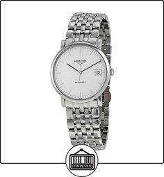 LONGINES RELOJ DE HOMBRE AUTOMÁTICO 34MM CORREA Y CAJA DE ACERO L48094126  ✿ Relojes para mujer - (Lujo) ✿
