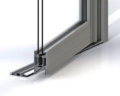 Jack Aluminium's high usage entrance door achieves U-value Construction News, Window Detail, Aluminium Doors, Entrance Doors, Sink, Windows, Building, Home Decor, Aluminum Gates