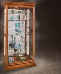 Manifestation Eight Shelf Sliding Door Collectors Curio Cabinet (Like this one, too! Glass Cabinet Doors, Glass Doors, Display Boxes, Sliding Doors, Glass Showcase, Acrylic Display, Shelves, Glasses Case, Countertop