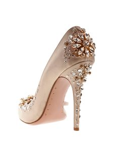 Pretty and romantic! - Discovered this site through shoes search, worth a look on pinterest and on the site you can custom make your own shoe too!