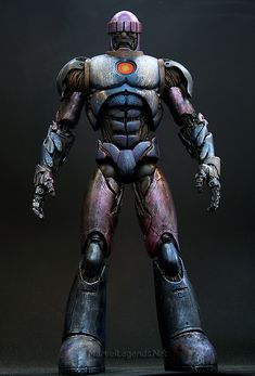 Marvel Legends Sentinel Series Sentinel // Pinned by: Marvelicious Toys - The Marvel Universe Toy & Collectibles Podcast [ m a r v e l i c i o u s t o y s . c o m ]