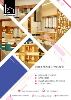"""""""Home center Interiors creating stunning and elegant interiors .We reach our clients' expectations and needs by bringing great design home. Contact Us: 9495543200 Best Interior, Interior Design, Beautiful Interiors, Kerala, Perfect Place, Designers, House Design, Elegant, Inspiration"""