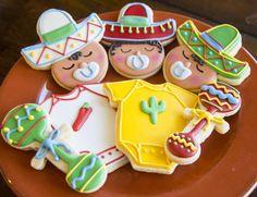 cinco de mayo cookies | Cinco De Mayo Baby Shower
