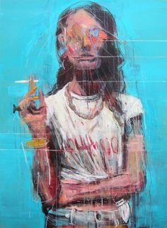 Expressive Paintings by Kim Byungkwan