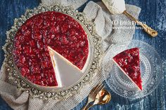 Cheesecake cu visine Cheesecake, Custard, Mascarpone, Cheese Cakes, Cheesecakes