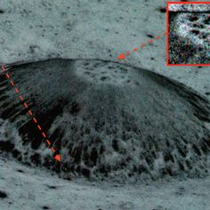 Alien 9 Mile Dome City Found On Earths Moon In @NASA Photos, Feb 2016, Video, UFO Sighting News.