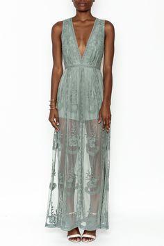 fa96eea19b9 Wishlist Ellie Maxi Romper Dress - Main Image Lace Maxi Romper