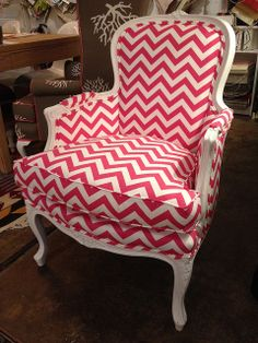 baroque chevron chair. love!
