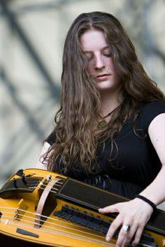Anna Murphy from Eluveitie. Matt swears we look alike. I kinda see it now.