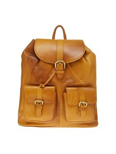 795bbbc7eb Leather World 10.5 Liter Rust Genuine Leather Stylish Backpack with Zip  Closure Travel Bag BP3021