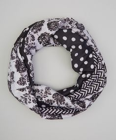Love this Lilac Polka Dot Infinity Scarf by DM Merchandising on #zulily! #zulilyfinds