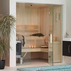 Bespoke sauna room for family residence Sauna Steam Room, Sauna Room, Roof Deck, Home Spa, Home Reno, Second Floor, Bespoke, Harems, Hot Tubs