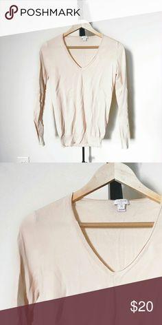 JCrew Soft V Neck Sweater Unworn, no wear/tear/stains. J. Crew Sweaters V-Necks