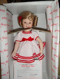 Shirley Temple by Danbury Mint. I have this doll
